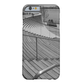 Navy Pier Stairs Grayscale Barely There iPhone 6 Case