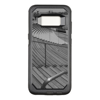 Navy Pier Stairs Grayscale OtterBox Commuter Samsung Galaxy S8 Case