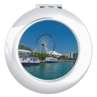 Navy Pier Travel Mirror