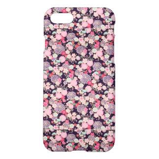 Navy & Pink Matte Iphone 7 Case