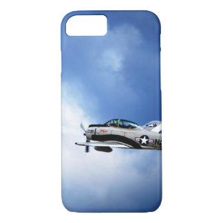 Navy Plane Barely There iPhone 7 Case