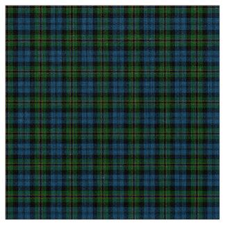 Navy Polaris Tartan Fabric