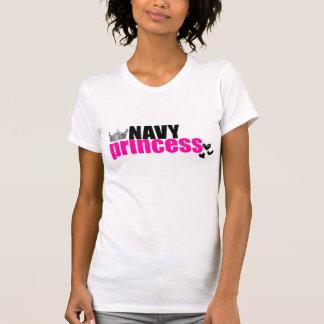 NAVY princess T-Shirt