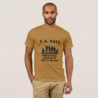 Navy Protection T-Shirt