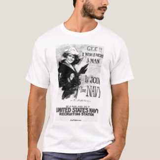 Navy Recruiting Poster T-Shirt