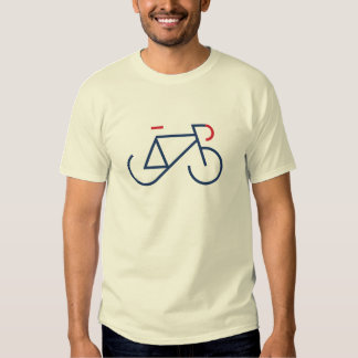 Navy & Red Fixie T-Shirt