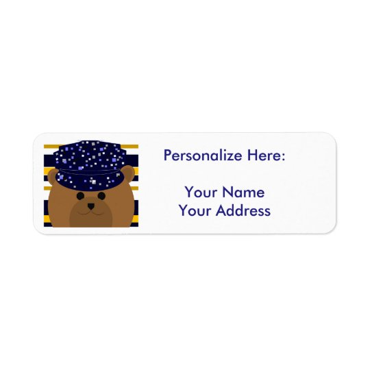 Navy Sailor - Return Address Label