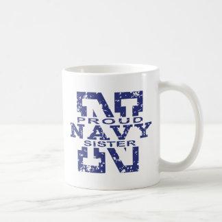 Navy Sister Coffee Mug