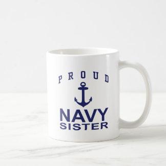 Navy Sister Coffee Mugs