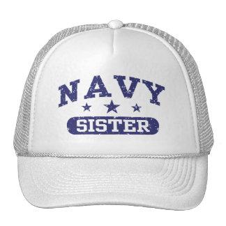 Navy Sister Mesh Hat
