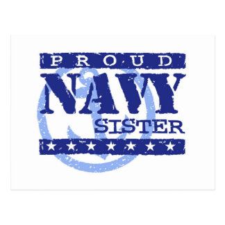 Navy Sister Postcard