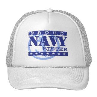 Navy Sister Trucker Hat