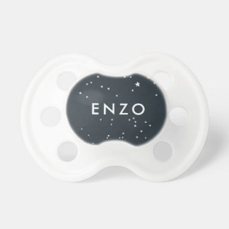 Navy Starry Night Boy's Pacifier