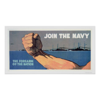 Navy - The Forearm of the Nation (US02142) Poster