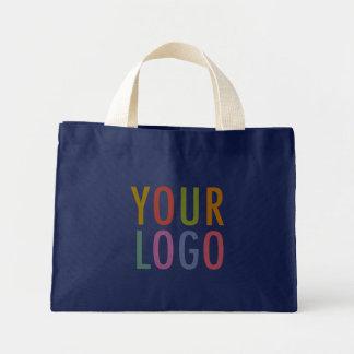 Navy Tote Bag Custom Logo Branded Promotional