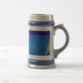 Navy Translucent Coffee Mug