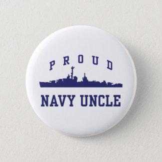 Navy Uncle 2 Inch Round Button