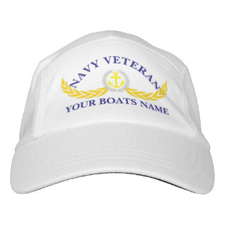 Navy veteran boats hat