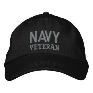 Navy Veteran Military Baseball Cap