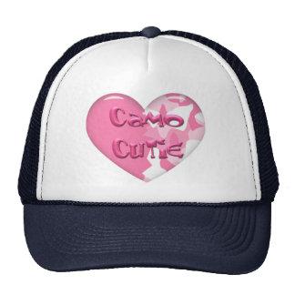 Navy & White camo cutie hat