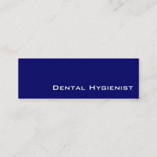 Dental hygienist business cards business card printing zazzle ca navy white dental hygienist business cards colourmoves