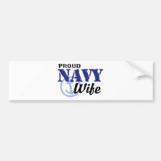 Navy Wife Bumper Stickers