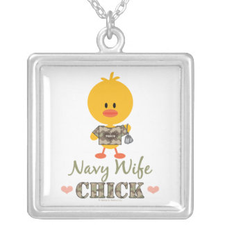 Navy Wife Chick Necklace