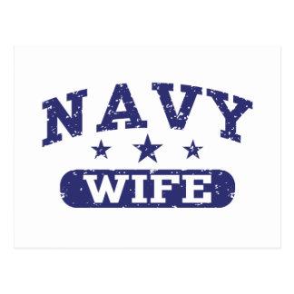 Navy Wife Postcard