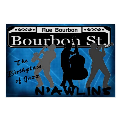 N'AWLINS POSTER