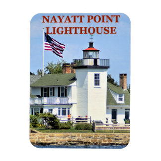 Nayatt Point Lighthouse, Rhode Island Magnet