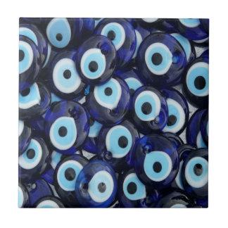 Nazar Amulets Evil Eye Stones Blue Pattern Ceramic Tiles