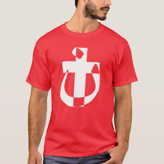 Nazarene Symbol Solidarity Christian Cross T-Shirt