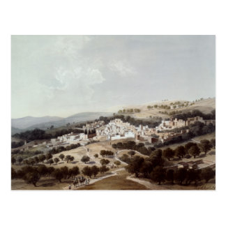 Nazareth, engraved by Terry Postcard