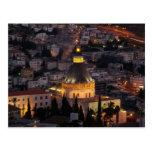 Nazareth, the city of Jesus parents Post Card