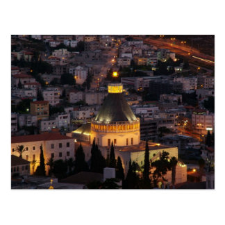 Nazareth, the city of Jesus parents Postcard