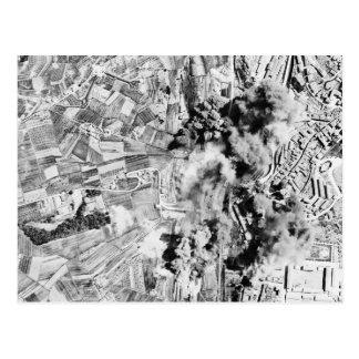 Nazi Railroad Yards Bombed in Operation Strangle Postcard