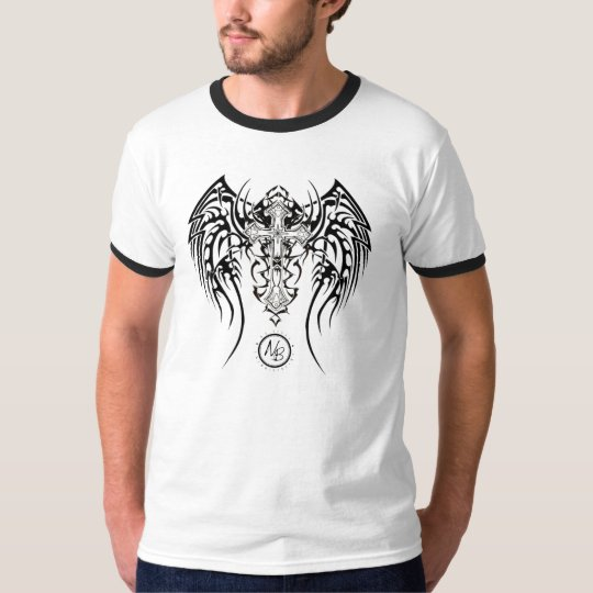 NBE Tribal cross T shirt