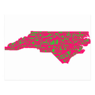 NC Cities Postcard