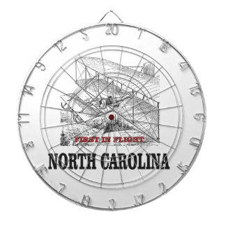 NC first in flight Dartboard