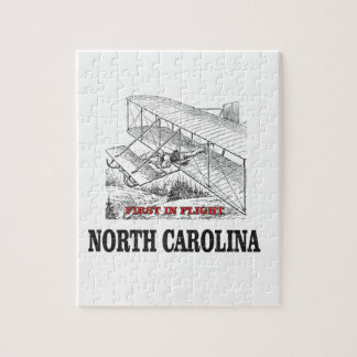 NC first in flight Jigsaw Puzzle