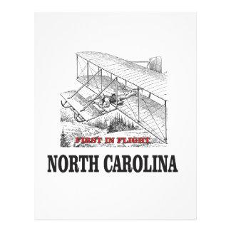 NC first in flight Letterhead