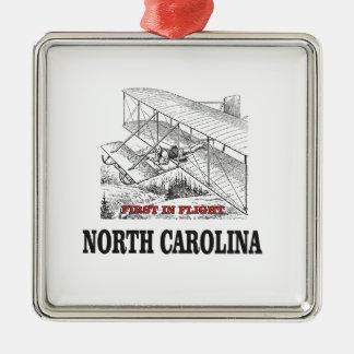 NC first in flight Metal Ornament