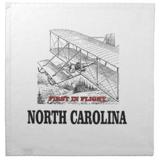 NC first in flight Napkin