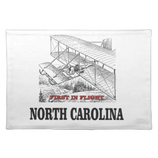NC first in flight Placemat