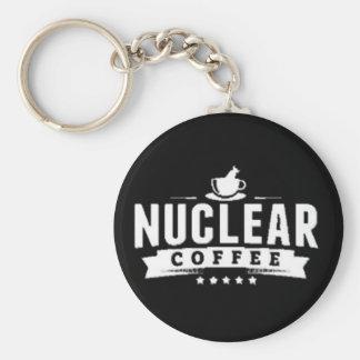 NC Keychain! Basic Round Button Keychain