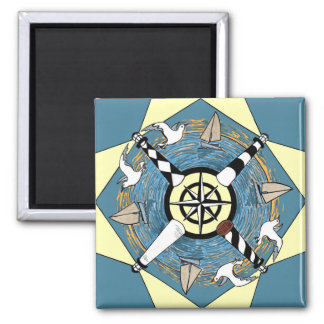 NC Lighthouses- magnet
