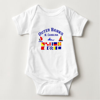 NC Outer Banks Signal Flags Shirts