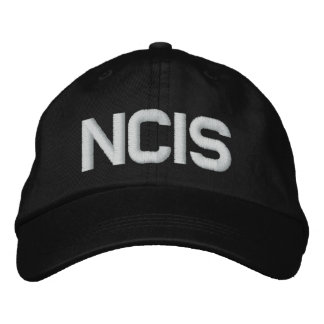 NCIS Adjustable Hat Embroidered Baseball Cap