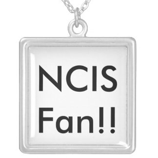 NCIS Fan!! Silver Plated Necklace