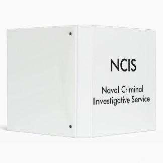 NCIS, Naval Criminal, Investigative Service Binder
